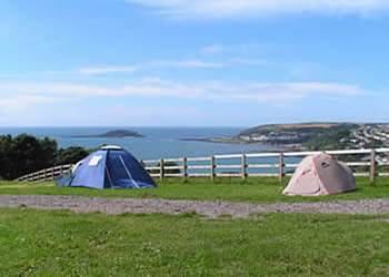 caravans and camping in Cornwall