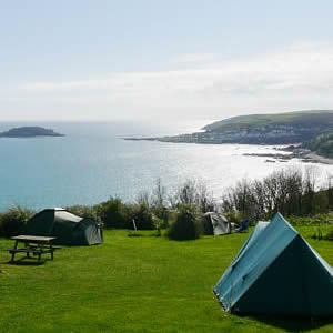 C&ing in Cornwall & Bay View Farm Camping u0026 Caravan Park Looe Cornwall